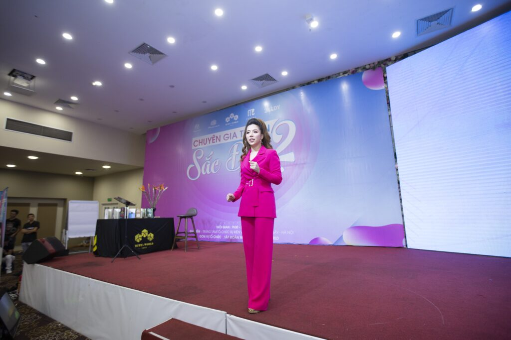 Diễn giả - Chủ tịch Tập đoàn mỹ phẩm Ruby's World Đào Minh Châu