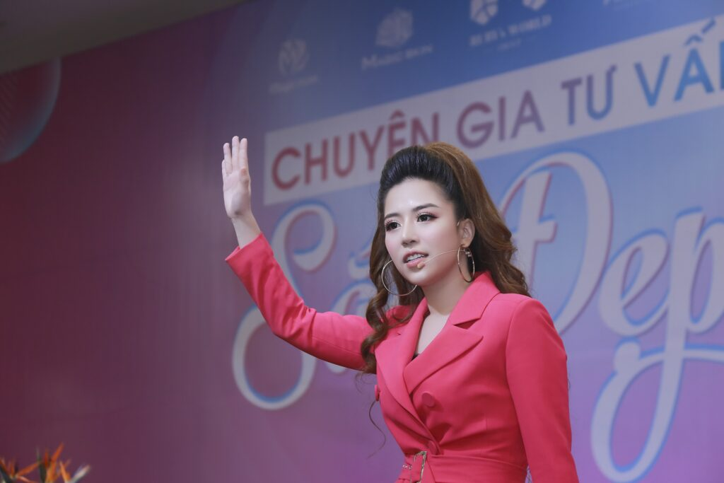 Diễn giả, Chủ tịch tập đoàn mỹ phẩm Ruby's World Đào Minh Châu