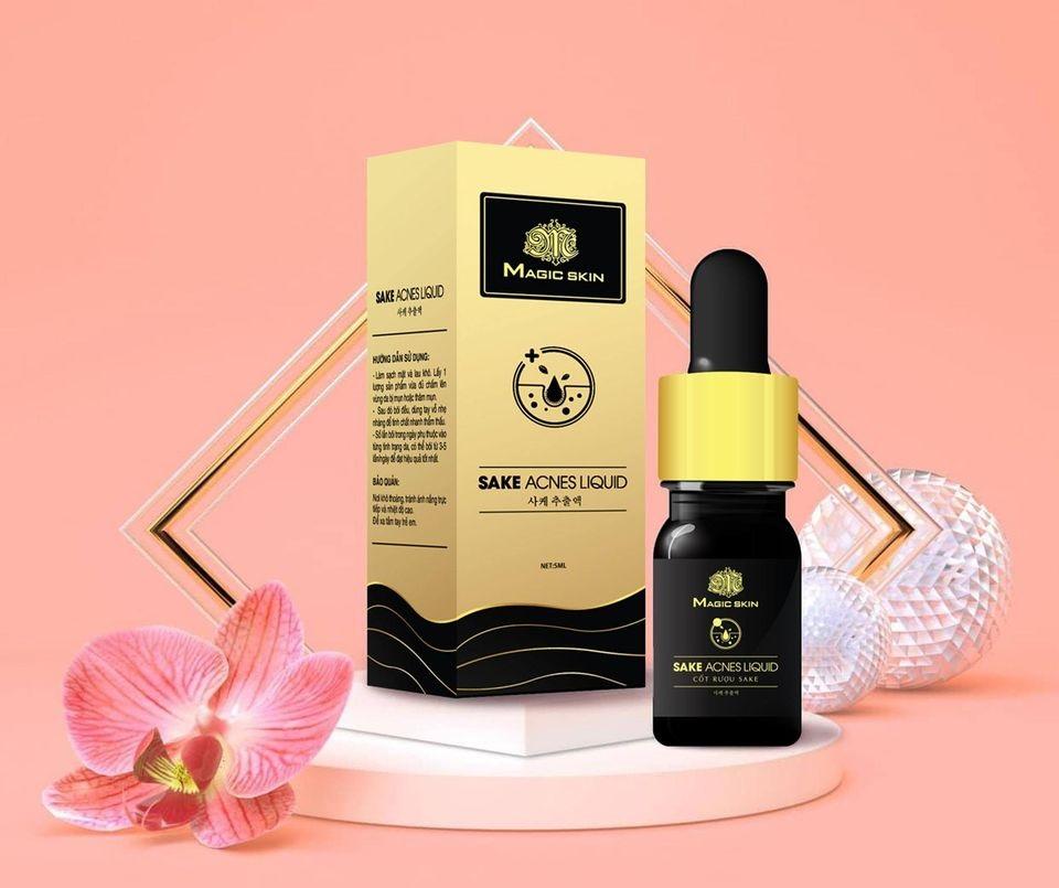 Sake Acnes Liquid là siêu phẩm ngăn ngừa mụn tốt cho mọi loại da
