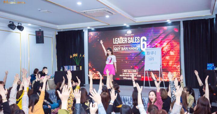 Leader sale 6 là chương trình đào tạo thường niên của Magic skin