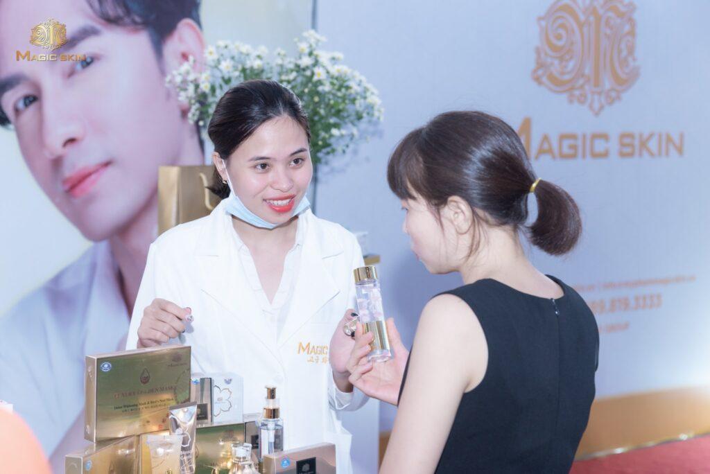 Magic Skin trao gửi những sản phẩm chất lượng nhất tới tay người tiêu dùng