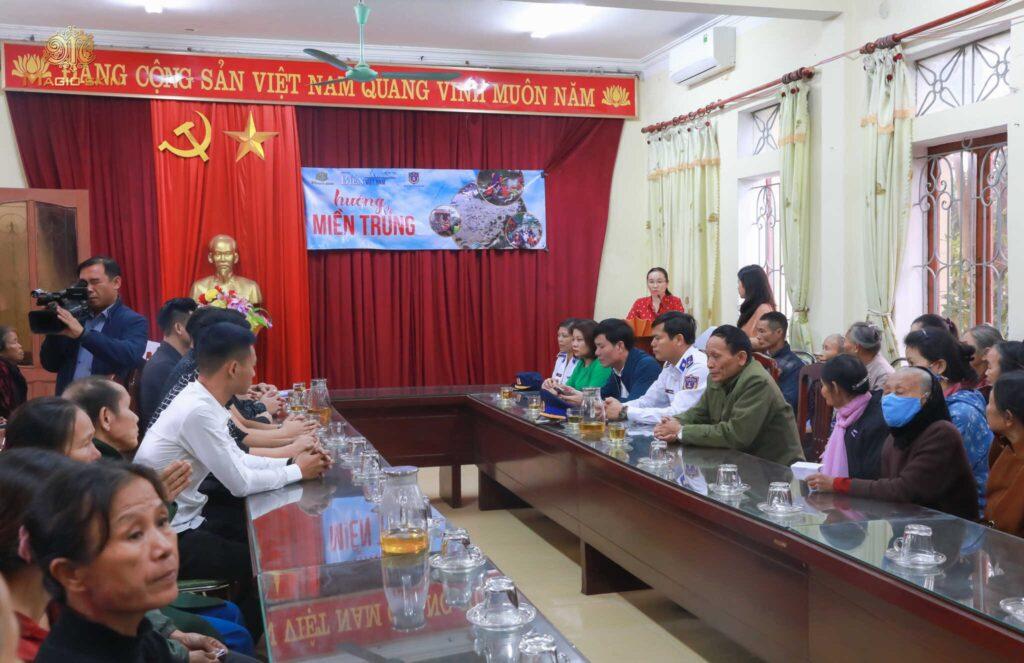 Toàn cảnh làm việc cùng huyện Nghi Xuân, Hà Tĩnh