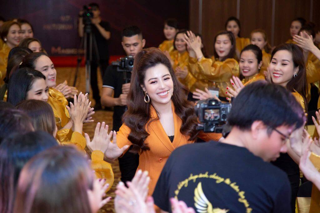 Chuổi đào tạo Tin để thành công đánh dấu bước quay trở lại của nữ hoàng sân khấu Đào Minh Châu