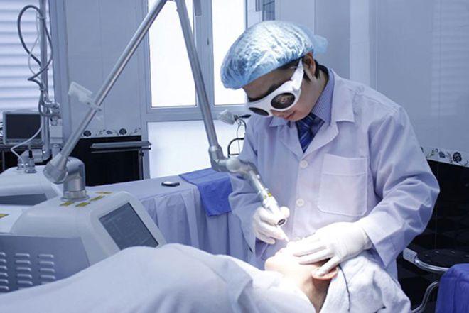 Điều trị bằng laser loại bỏ nám da chỉ trong thời gian ngắn
