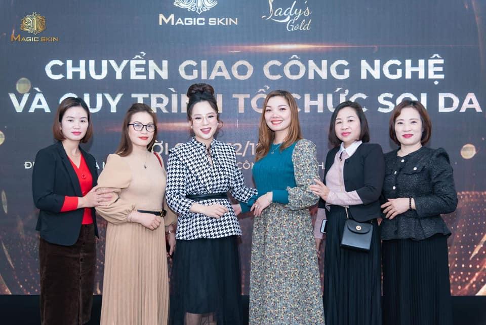 Doanh nhân Nguyễn Hồng Thắm có những thay đổi tích cực sau khi kinh doanh Magic Skin