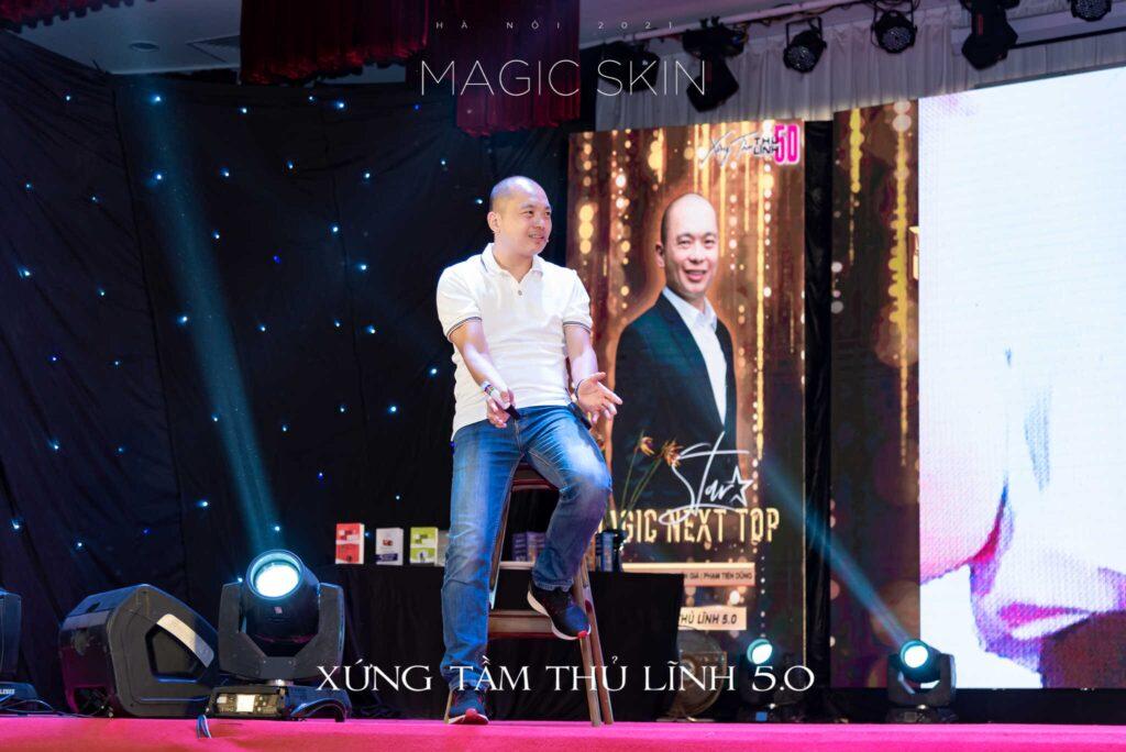Người truyền cảm hứng, diễn giả - Phạm Tiến Dũng