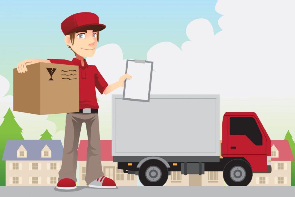 Dịch vụ vận chuyển trong kinh doanh online