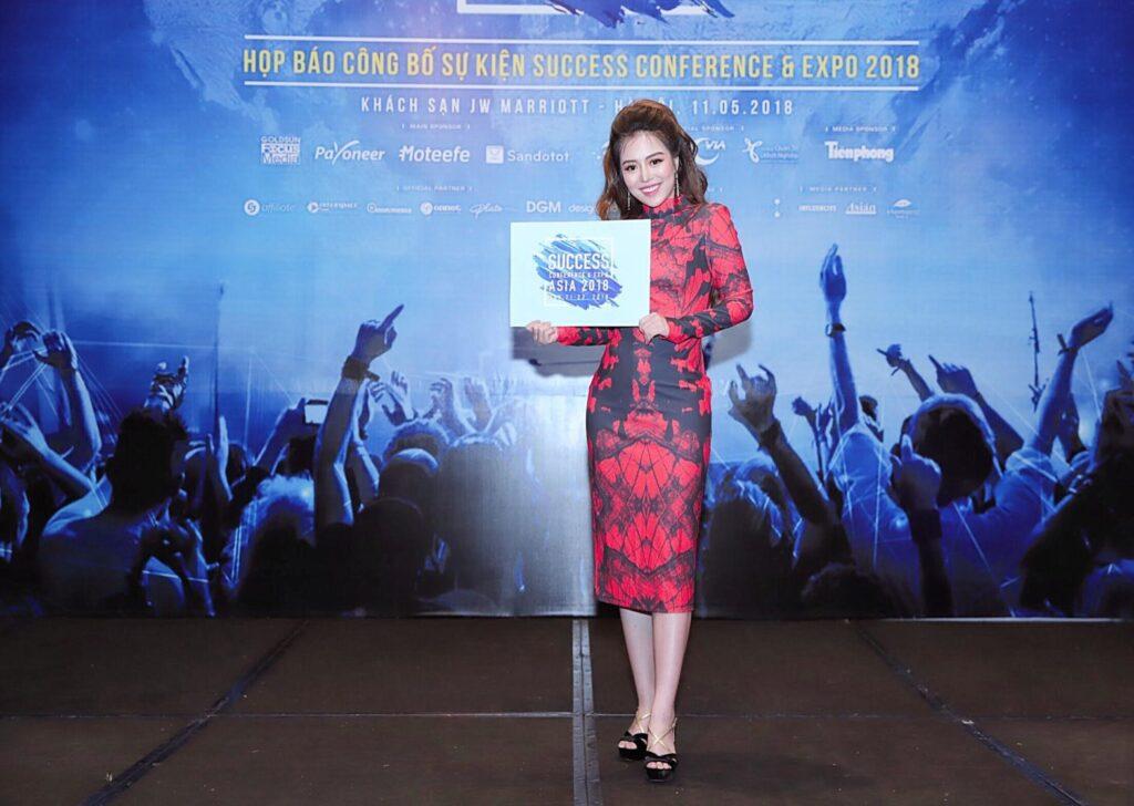 Diễn giả Đào Minh Châu tại sự kiện Success Conference & Expo Asia 2018