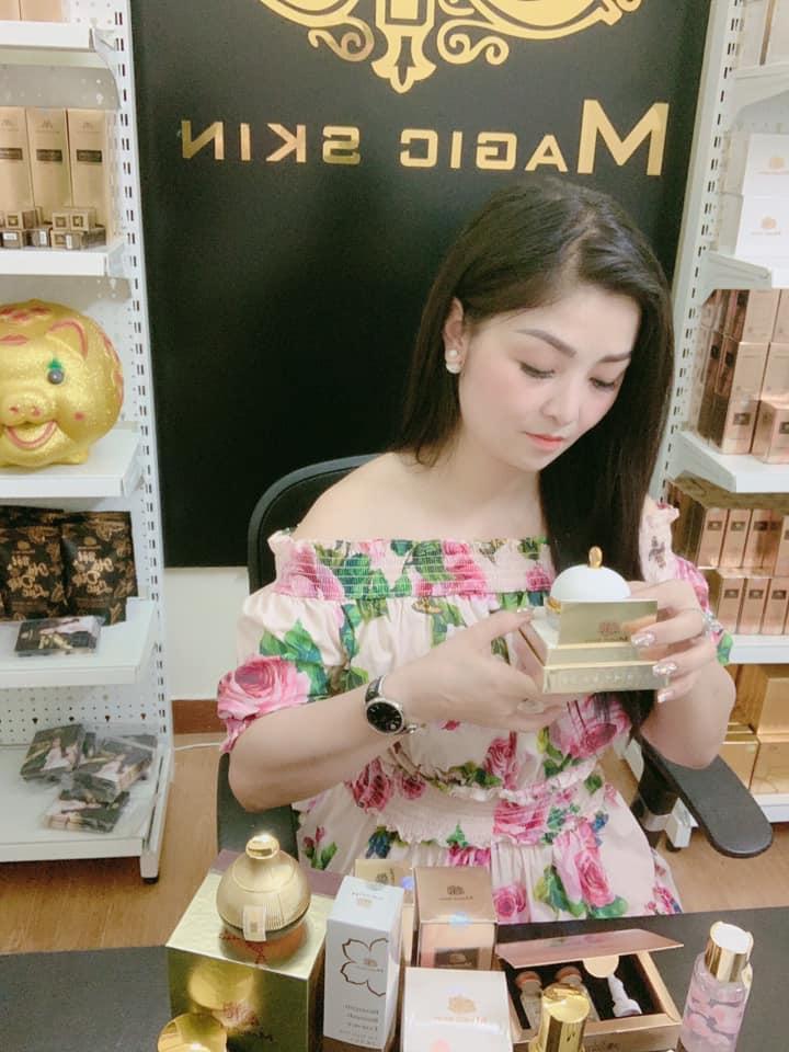 Sau thời gian tìm hiểu chị Hương quyết định kinh doanh cùng Magic Skin