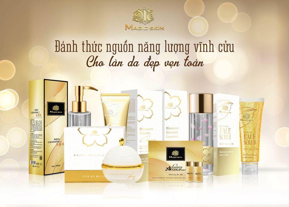 Thương hiệu mỹ phẩm Việt Magic Skin.