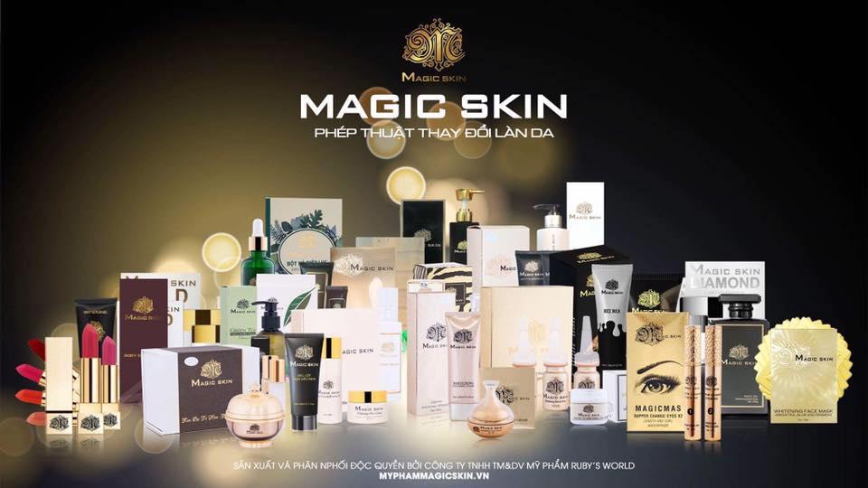Thương hiệu mỹ phẩm Magic Skin